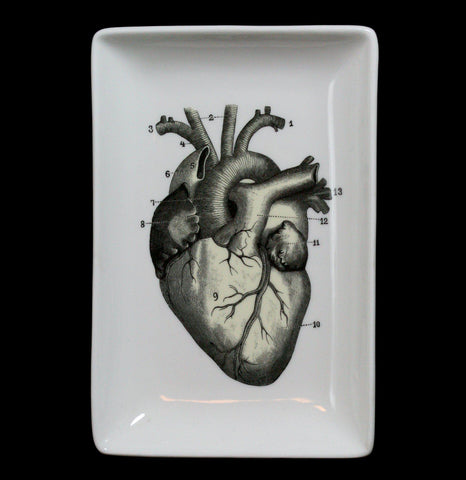 Heart Trinket Tray-Pots&Cups-Magpie Line Ltd.-PaxtonGate