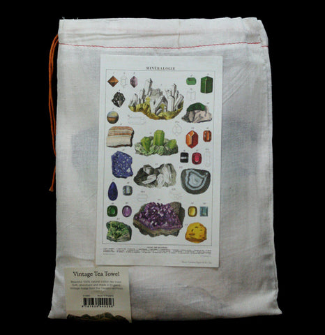 Mineralogy Tea Towel - PaxtonGate