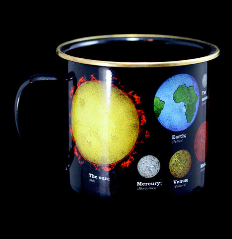 Enamel Space Mug-Pots&Cups-Gift Republic-PaxtonGate