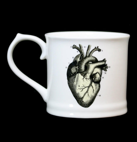 Human Heart Mug-Pots&Cups-Magpie Line Ltd.-PaxtonGate