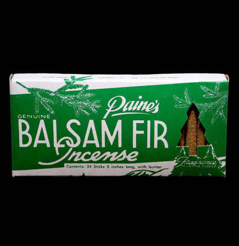 Balsam Fir Incense With Holder-Candles-Paine Products Inc.-PaxtonGate