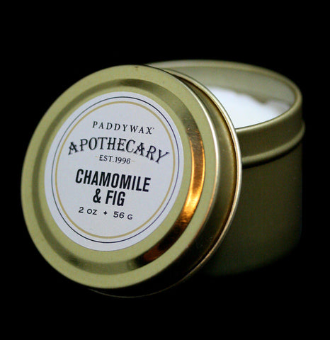Apothecary Tin Candle Chamomile & Fig - PaxtonGate