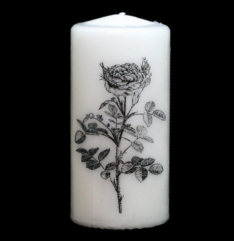 Altar Rose Pillar Candle - PaxtonGate