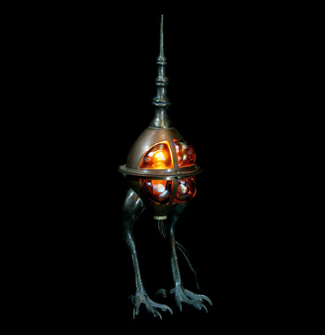 Evan Chamber Baby Cicada Lamp-Lighting-Evan Chambers-PaxtonGate