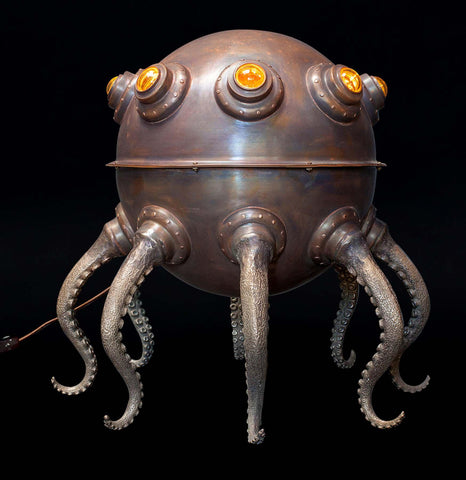 Evan Chambers Extra Large Octopod Table Lamp - PaxtonGate