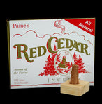 Red Cedar Incense With Holder-Candles-Paine Products Inc.-PaxtonGate