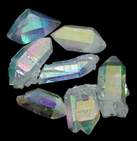 Angel Aura Quartz Crystal Points-Minerals-Jewel Tunnel Imports-PaxtonGate