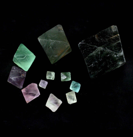 Fluorite Octahedron-Minerals-Guilin Jinglin Minerals-PaxtonGate
