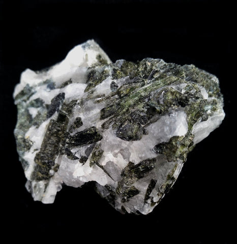 Green Tourmaline in Quartz Crystal - PaxtonGate