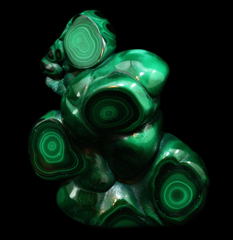 Polished Malachite and Chrysocola Specimen-Minerals-Malachite Gems of Africa-PaxtonGate