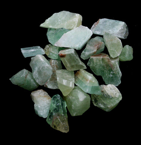 Rough Green Calcite Minerals For Tumbling-Minerals-Paxton Gate-PaxtonGate