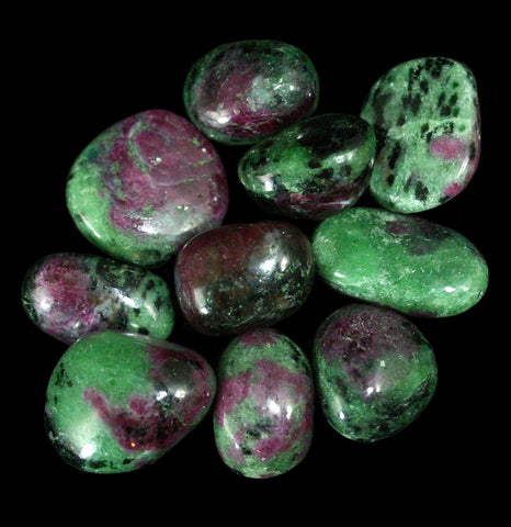 Tumbled Ruby Zoisite Stone - PaxtonGate