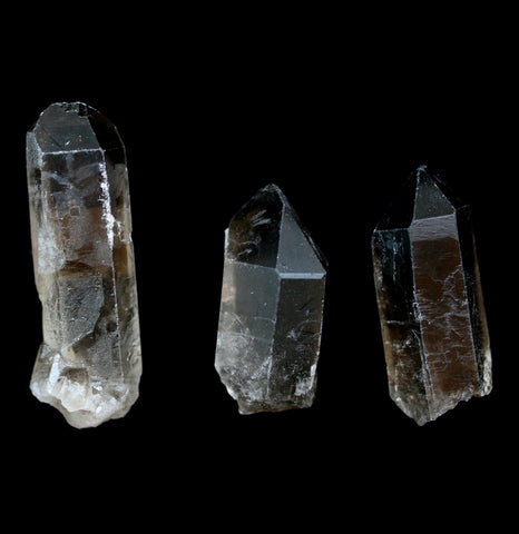 Smokey Quartz Crystal Point-Minerals-Genilson de Moura Mines-PaxtonGate