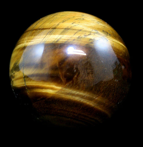 Tiger's Eye Sphere-Minerals-Joyoung Int''l-PaxtonGate