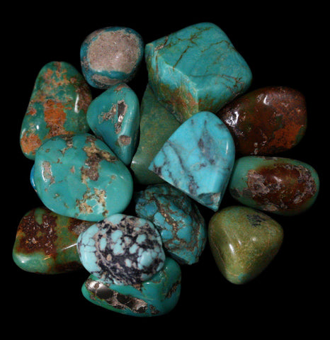 Tumbled Turquoise Stones - PaxtonGate