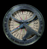 18th C. Sundial & Compass-AntqRplica-Authentic Models-PaxtonGate