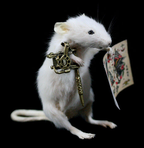 Tattoo Artist Taxidermy Mouse