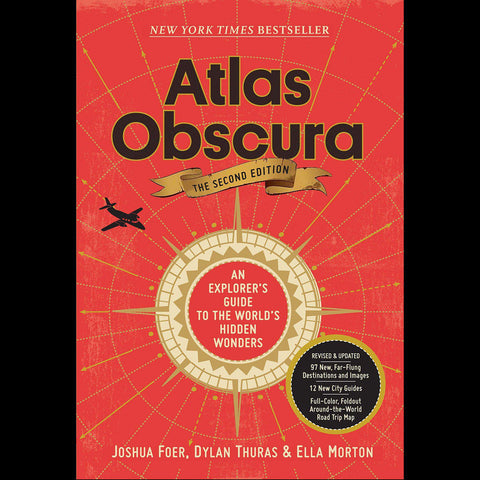 Atlas Obscura: An Explorer's Guide to the World's Hidden Wonders-Books-Workman Publishing Co.-PaxtonGate