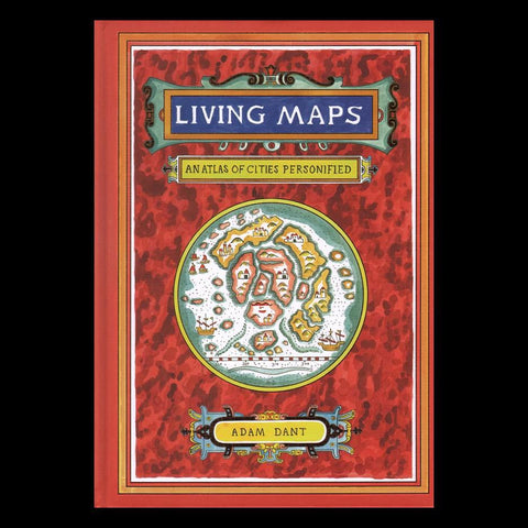 Living Maps: An Atlas of Cities Personified-Books-Chronicle Books/Hachette-PaxtonGate
