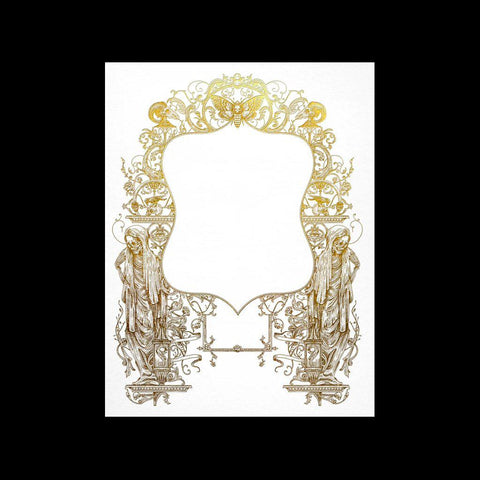 Gold Frame Moth Card-Cards-Open Sea Design Co.-PaxtonGate