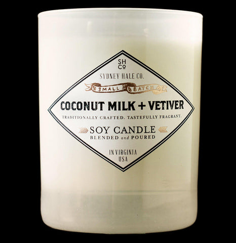 Sydney Hale Coconut Milk and Vetiver Candle - PaxtonGate