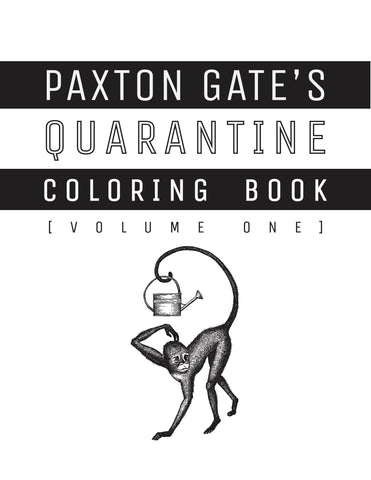 The Paxton Gate Coloring Book Vol 1 (Physical Copy)-Books-Paxton Gate-PaxtonGate