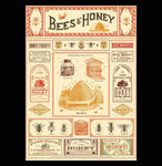 Bees & Honey Poster Wrap - PaxtonGate