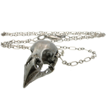 Bronze Winged Mannikin Skull Necklace-Necklaces-Black Sparrow-PaxtonGate