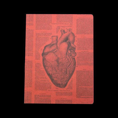 Anatomical Heart Softcover Notebook-Notebooks-Cognitive Surplus-PaxtonGate