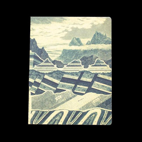 Geology: Layers of the Earth Softcover Notebook-Notebooks-Cognitive Surplus-PaxtonGate