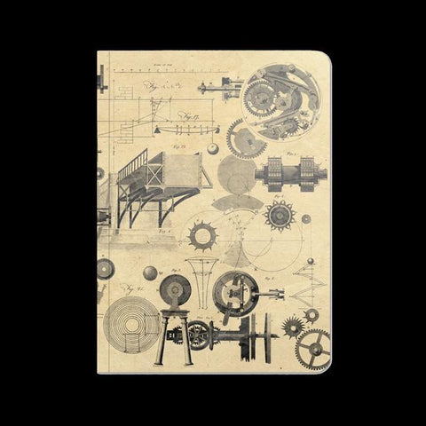 Physics: Mechanics & Engineering Softcover Notebook-Notebooks-Cognitive Surplus-PaxtonGate