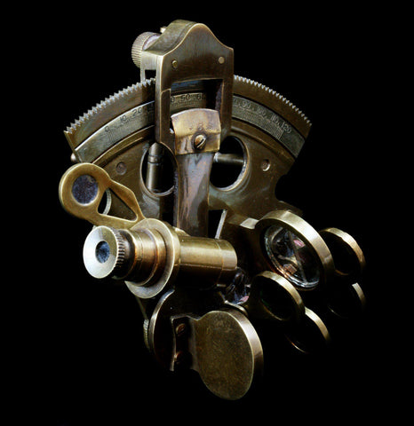 Bronze Pocket Sextant - PaxtonGate