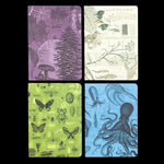 Natural Science Pocket Notebook 4-Pack-Notebooks-Cognitive Surplus-PaxtonGate
