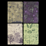 Plants & Fungi Pocket Notebook 4-Pack-Notebooks-Cognitive Surplus-PaxtonGate