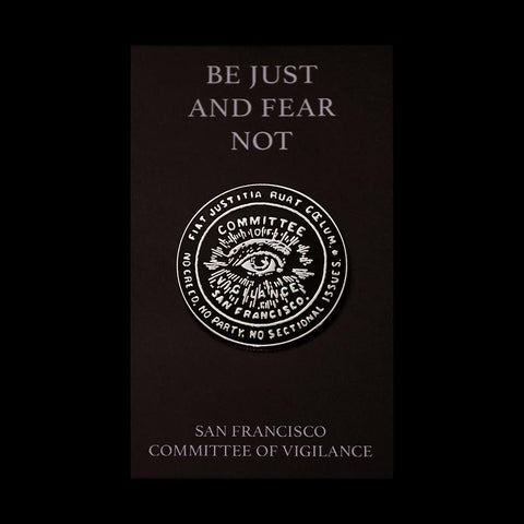 San Francisco Committee Of Vigilance Enamel Pin-Pin-James Dillon-PaxtonGate
