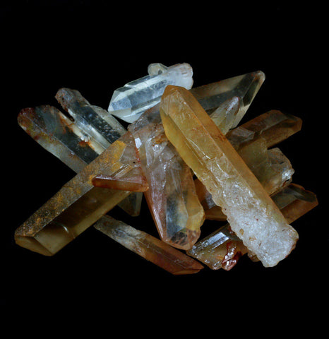 Tangerine Quartz Point Crystal - PaxtonGate