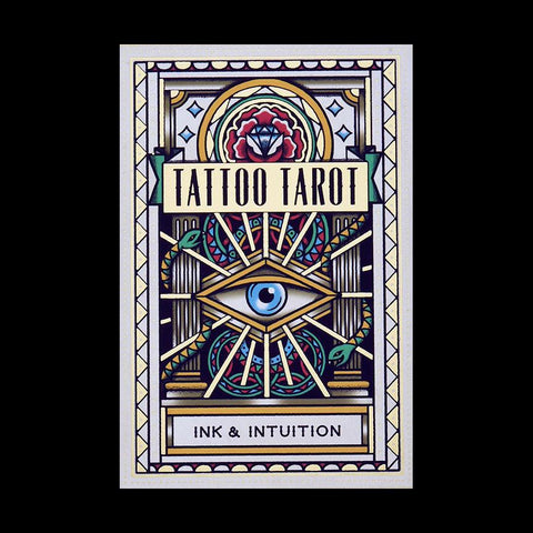 Tattoo Tarot: Ink & Intuition Card Set-Books-Chronicle Books/Hachette-PaxtonGate
