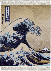 The Great Wave off Kanagawa Coaster Rug