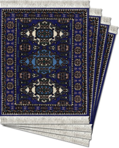 Ardabil Coaster Rug Set