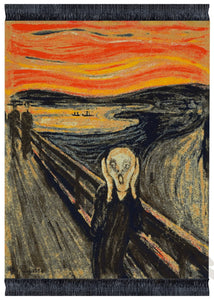 The Scream by Edvard Munch Mouse Rug