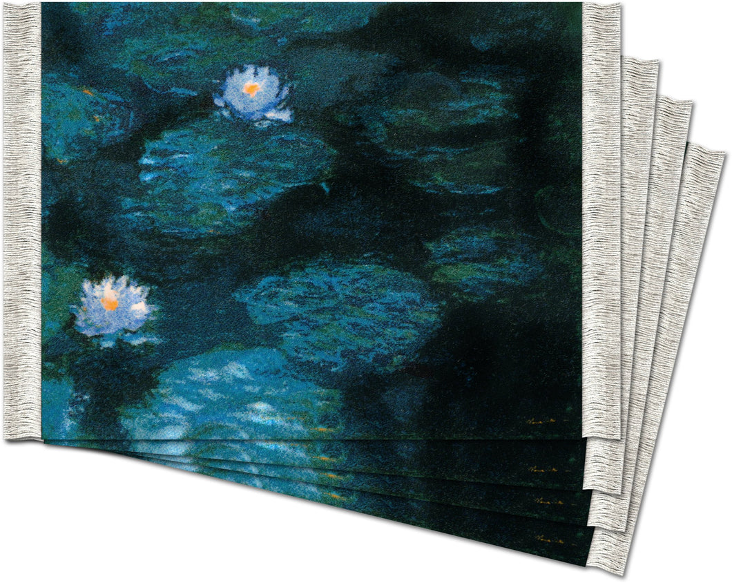 Water-Lilies by Claude Monet Coaster Rug Set
