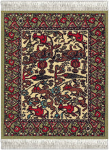 Load image into Gallery viewer, Jade Fars Pictorial Coaster Rug