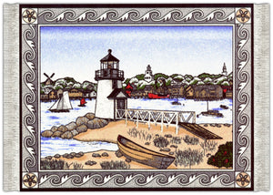 Brant's Point Lighthouse Mouse Rug