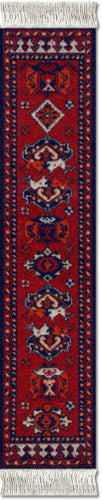 Early Turkmen Book Rug