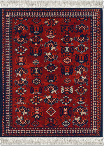 Early Turkmen Mouse Rug