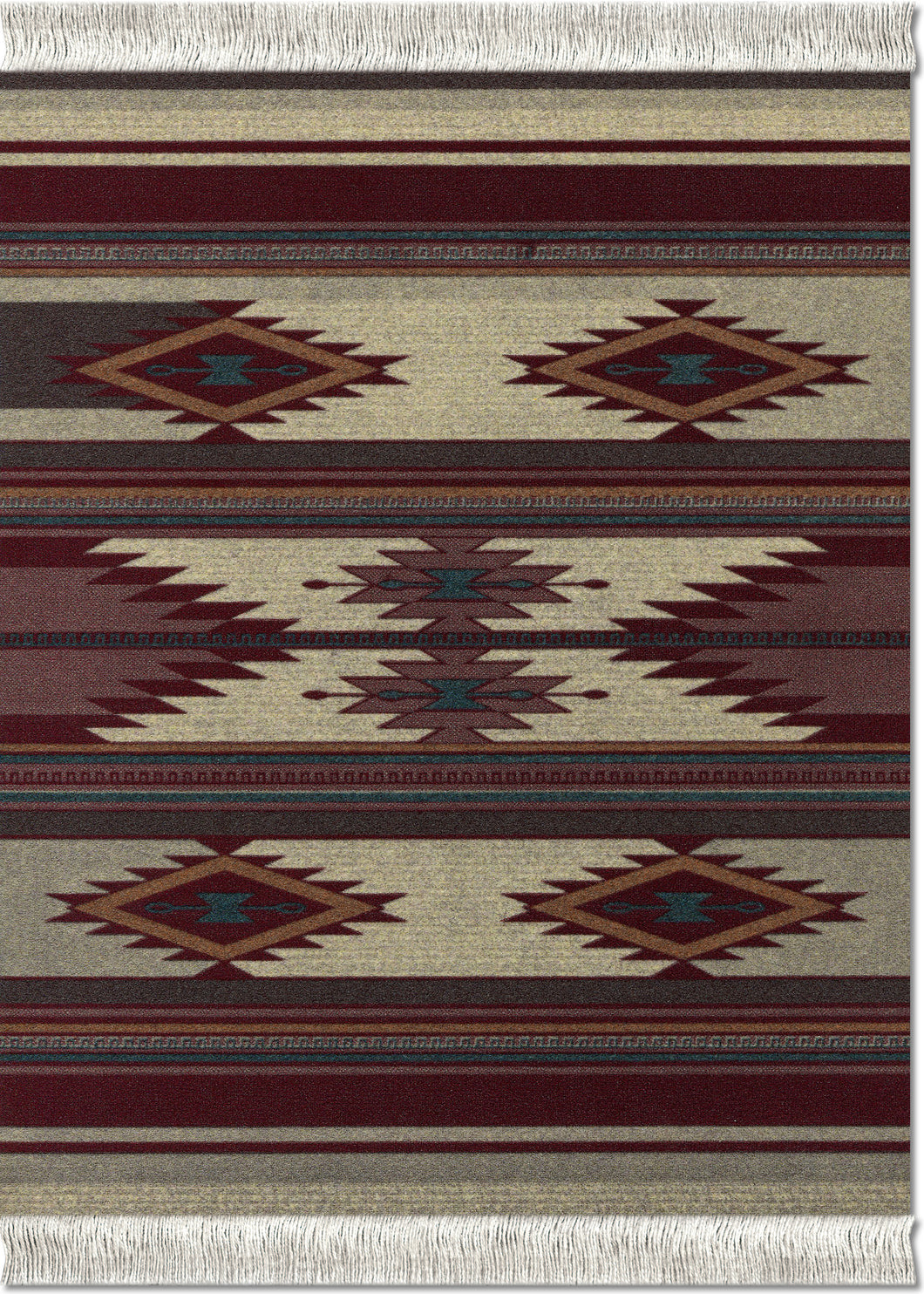 Earthtone Southwest Mouse Rug