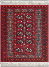 Load image into Gallery viewer, Turkoman Bokhara Coaster Rug
