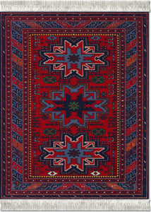 Lesghi Star Mouse Rug