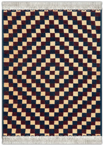 Checkerboard Serape Mouse Rug