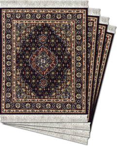 Midnight Persian Coaster Rug Set